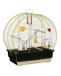 Клетка за малки птички с пълно оборудване 44.5 / 25 / 45.5 cм. - Ferplast - Luna 2