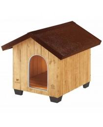 Ferplast Domus Maxi - дървена къщичка 111,5 / 132 / 103,5 cm