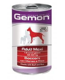 Adult Maxi Beef and Rice - Консерва хапки с говеждо и ориз за Кучета 1250 гр.