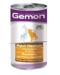 Adult Medium Chicken and Turkey - Консерва хапки с пиле и пуйка за Кучета 1250 гр.
