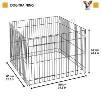 Ferplast - Dog Training - Заграждение за дома или градината 80 / 80 / 62 cм.