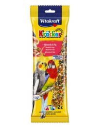 Храна за средни папагали - Vitakraft - Крекер бадеми и смокини 2бр.