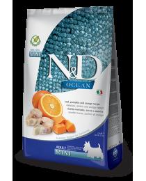Farmina N&D - Храна за възрастни кучета. Треска, тиква и портокал 800 гр.