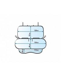 Kegel Junior Duo - покривало за задна седалка 136 / 128 см.
