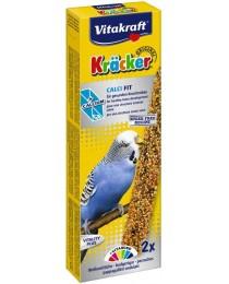Храна за вълнисти папагали - Vitakraft - Крекер калций 2бр.