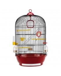 Клетка за птички с пълно оборудване ø 40 / 65 cм. - Ferplast - Diva Black