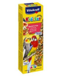Храна за средни папагали - Vitakraft - 2бр Крекер с плодове