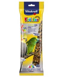Крекер за оперение – 2бр. многокомпонентна храна за средни папагали